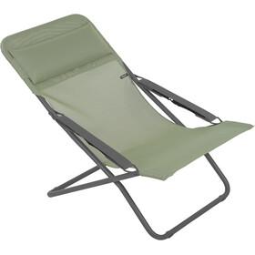 Lafuma Mobilier Transabed Camp Stool Batyline grey/green